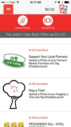 The newest Cash Back app for Canadians. So many ways to earn cash and they are celebrating with a twitter party.
