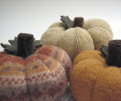 Start getting some sweaters at your thrift stores to make these cute Thanksgiving Sweater Pumpkins!