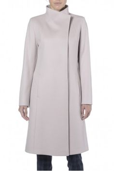 Cappotto lungo cipria. Cappotto donna in cashmere. 100% cashmere. 0c0891061f7