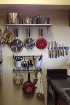 My new IKEA kitchen wall storage!! Love it!!!