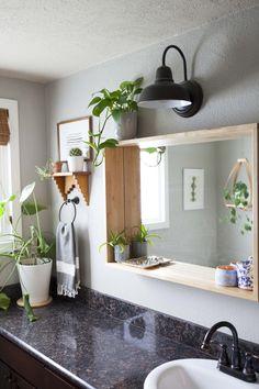 11 Budget Ways to Upgrade Your Basic Frameless Bathroom Mirror