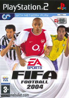 FIFA Football 2004 Game for the Sony Playstation 2 Buy Now from Fully Retro! Gaming Wallpapers Hd, Xbox One, Fifa Football, Playstation 2, Ps4, Best Windows, All Games, Big Game, Video Games