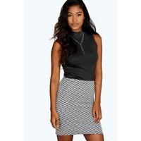 Buy boohoo Textured Jacquard Mini Skirt black £6 from Women's Mini Skirts range at #YouShopping.co.uk Marketplace. Fast & Secure Delivery from boohoo.com online store. List Style, Boho Look, Boohoo, Mini Skirts, Delivery, Dresses For Work, Range, Texture, Denim