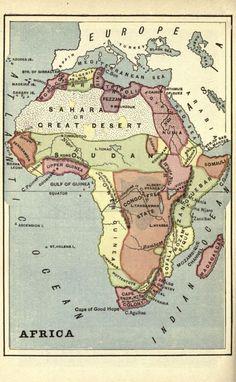 Africa. 1879.