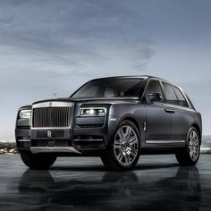 The Cullinan is not a Rolls Royce that I can accept | black