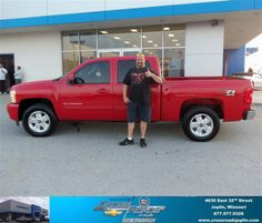 #HappyAnniversary to Kevin Logan on your 2013 #Chevrolet #Silverado 1500 from Tab Bluejacket  at Crossroads Chevrolet Cadillac!