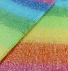 Didymos Didymos Indio Rainbow geweven draagdoek.