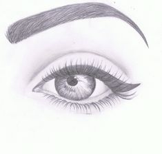 Amazing Eye Drawing Tutorials & Ideas 20 Amazing Eye Drawing Ideas & Inspiration – Brighter Craft See it Tumblr Drawings, Cool Art Drawings, Pencil Art Drawings, Easy Drawings, Drawing Sketches, Manga Drawing, Drawing Faces, Drawing Art, Easy Portrait Drawing
