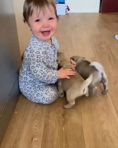Animals 🙈 - Animals, animals wild, animals funny, animals cutest, animals and pets Cute Funny Babies, Funny Dogs, Cute Kids, Cute Baby Dogs, Cutest Dogs, Adorable Babies, Fun Funny, Funny Humor, Cute Baby Videos
