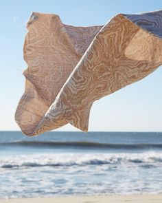 Where are you headed this weekend? We shot this Marble Geode on a beautiful beach in Sagaponack New York and we kind of wish we were going back there again. Have a relaxing weekend everyone! #rebeccaatwood #RAwovens #RAfabricbytheyard