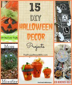 15 DIY Halloween Decor Round-Up