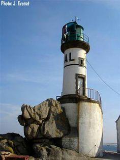 Phare de MEN-BRIAL, Ile de Sein, Iroise, Brittany