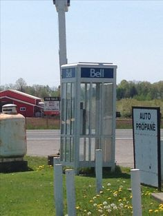 This phone booth is in Haldimand-Norfolk, Ontario. Something I have not seen in years.