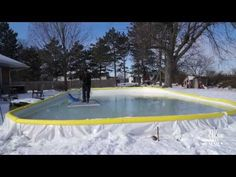 Three tips for keeping your backyard rink smooth all winter long - YouTube