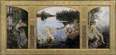 Aino Myth , Tryptic - Aksel Gallen Kelala