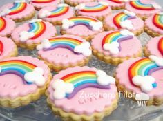 My little pony cookies Candy Theme Birthday Party, My Little Pony Birthday Party, Birthday Cup, Rainbow Birthday, Birthday Cookies, Pinky Pie, Cumple My Little Pony, My Little Pony Cupcakes, Rainbow Sugar Cookies