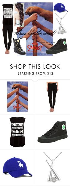 """Run like the wind"" by nicolemr01 ❤ liked on Polyvore featuring LAmade, PF Flyers, Jewel Exclusive and Giuseppe Zanotti"