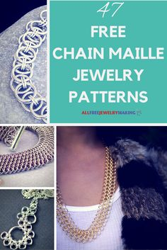 Chainmaille jewelry looks complex but it's really easy and interesting once you get the basics down.