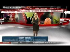 ▶ Orad's IBC 2013 Virtual Studio Presentation - YouTube