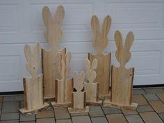 Osterhase Holz ab 8,50   Der Gedanke einen einfachen, schlichten aber dennoch ansehnlichen, effektiven Osterhasen / Holzhasen für die Osterdekoration zu entwerfen war schon lang in meinem...