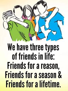 OMG this is soooo true; although I seem to have more friends for a reason!!! This is why I keep my Barriers up and concentrate on my family; done with the fake promises and fake hugs