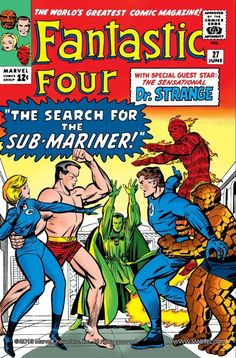 Fantastic Four #27  Namor also starred in the  Invaders with The original Human Torch.