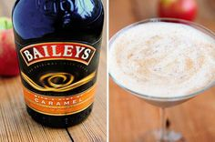 Baileys Caramel Apple Cocktail - hot or cold -