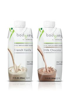 Gjenkinsmarketing.com Meal Replacement Shakes. Lose weight with a delicious, nutritious, on-the-go meal. Don't settle for unhealthy choices or missed meals! Rich, decadent shakes satisfy your sweet tooth and control hunger for just 140 calories. Part of the BODYKEY by NUTRILITE™ Program. Vanilla, Chocolate.