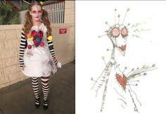 Tim Burton Inspired Costumes | ... Fox's Voodoo Girl won best Tim Burton inspired Costume of the night