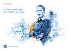 GE Oil & Gas by Peter Jaworowski, via Behance