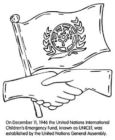 united nations unicef coloring page