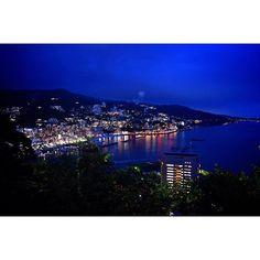 Instagram【lelys_gram】さんの写真をピンしています。 《* 📍Atami 素敵な夜景に目が釘付け👀 * #NikonD5500#Nikon#Atami#Japan#night#view#nofilter#photo#follow#followme#f4f#tagsforlikes#tflers#instagood#instalike#beautiful#travel#カメラ好きな人と繋がりたい#ニコン#一眼レフ#カメラ#熱海#夜景》