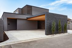 Modern Carport, Passive Design, Good House, Facade House, Exterior Design, Interior Architecture, House Design, Mansions, House Styles