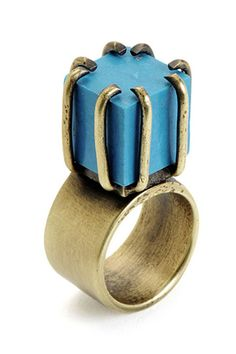 Kelly Wearstler Cube Ring, $98, available at Kelly Wearstler. || 16 Pieces Of Investment-Worthy Kelly Wearstler Jewelry  #refinery29