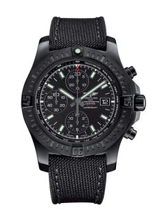 Flying (and Diving) Into Darkness: Three New Breitling Blacksteel Watches