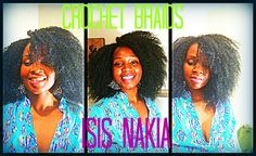 Crochets Braids with Marley Hair