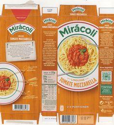 Miracoli linguine with tomato mozzarella sauce box