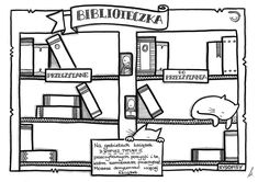 Biblioteczka Doodles, Education, Logo, School, Poster, Logos, Onderwijs, Learning, Donut Tower