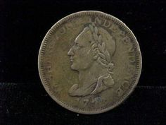 1783 Post Colonial One Cent Unity States VG or Better Condition LQQK | eBay