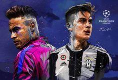 UEFA Champion's league on Behance