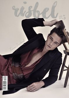 Francisco Lachowski Covers Risbel Magazine