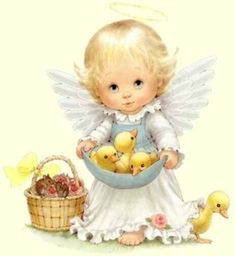 baby angels pictures | Baby Angel and Baby Animals - Angels Photo (7969547) - Fanpop fanclubs