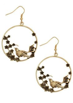 Natural utopia earings, modcloth.com