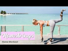 Hamstrings & Glutes Workout - TONED LEGS | Rebecca Louise - YouTube