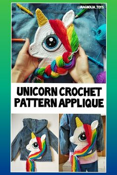 This is an 27 pages PDF pattern (with step by step photos) Crochet Unicorn Blanket, Crochet Unicorn Pattern, Crochet Horse, Unicorn Pillow, Crochet Patterns Amigurumi, Handmade Toys, Handmade Ideas, Etsy Handmade, Rope Crafts
