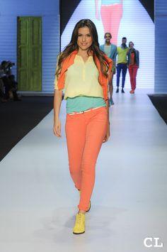 Pasarela GEF Círculo de la Moda Bogotá 2013 Modelo: Daniela Pinedo