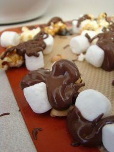 Homemade Moose Munch!  Good idea for neighbor gifts this year, and would make my hubby very happy!