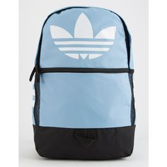 Adidas Originals Trefoil Light Blue Backpack ( 45) ❤ liked on Polyvore  featuring bags 164895557ad