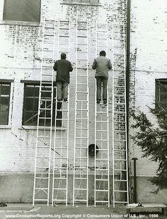 Household extension ladders, 1973  We judge overall rigidity, which combines resistance to bending, twisting, and side sway, by making close side-by-side comparisons of ladders at their fullest extension.