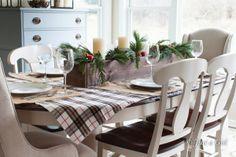Christmas table DIY